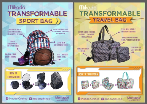 Mikado Transformable Bag2